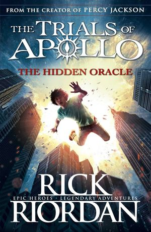 PERCY JACKSON AND HIDDEN ORACLE