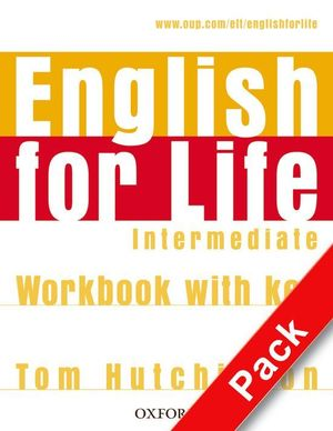 ENGLISH FOR LIFE INTERMEDIATE. STUDENT'S BOOK + MULTI-ROM
