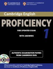 CAMBRIDGE ENGLISH PROFICIENCY 1 FOR UPDATED EXAM SELF-STUDY PACK (STUDENT'S BOOK
