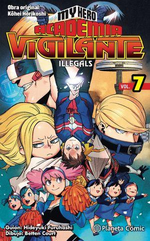 MY HERO ACADEMIA VIGILANTE ILLEGALS Nº07