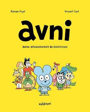 AVNI 01. ANIMAL VERDADERAMENTE NO IDENTIFICADO