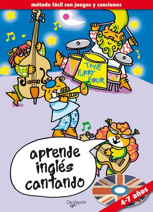 APRENDA INGLÉS CANTANDO + CD