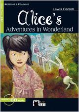 ALICE'S ADVENTURES IN WONDERLAND. BOOK + CD-ROM