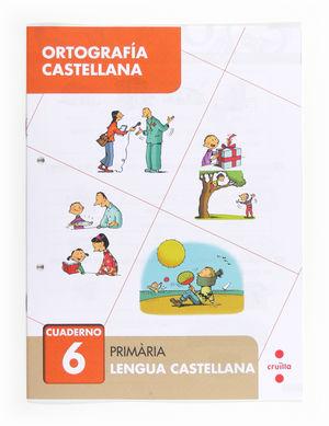 C-EP.ORTOGRAFIA CASTELLANA CUAD. 6 13