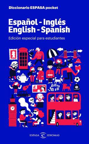 DICCIONARIO ESPASA POCKET. ESPAÑOL - INGLÉS. ENGLISH - SPANISH