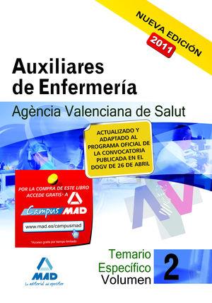 VOL II ESPECIFICA AUXILIAR ENFERMERIA