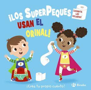 ¡LOS SUPERPEQUES USAN EL ORINAL!