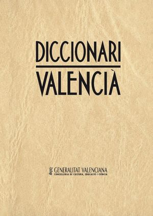 DICCIONARI VALENCIÀ