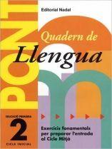 PONT LLENGUA 2 EDUCACIO PRIMARIA PAS DE 2N A 3R CICLE