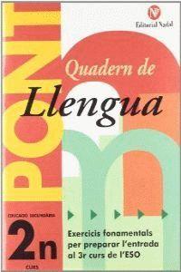 PONT LLENGUA, 2 ESO