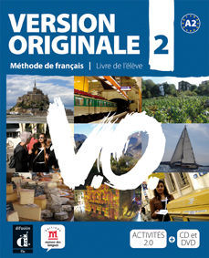 VERSION ORIGINALE A2. LIBRO DEL ALUMNO + CD + DVD