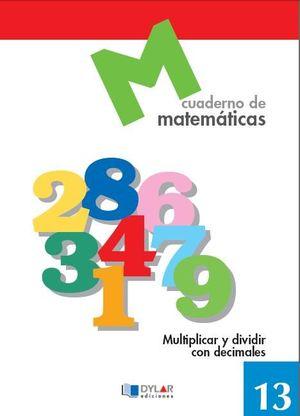 CUADERNO MATEMATICAS 13 DYLAR