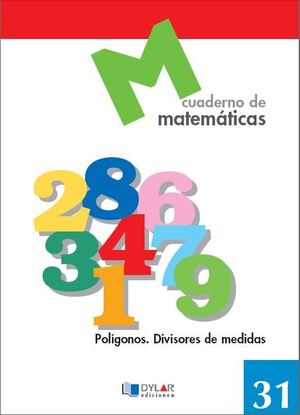 CUADERNO MATEMATICAS 31 DYLAR