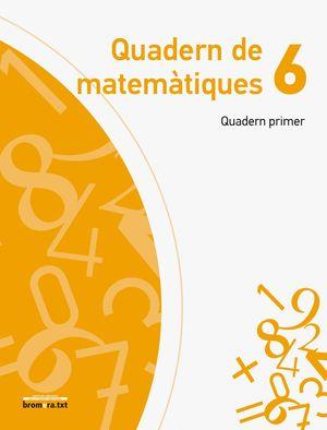 QUADERN DE MATEMÀTIQUES XIFRA 6.1