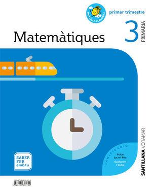 MATEMATIQUES 3 PRIMARIA SABER FER AMB TU
