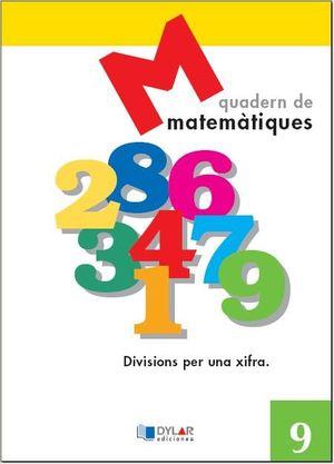 MATEMATIQUES - QUADERN  9