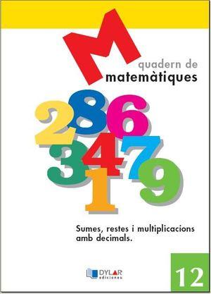 MATEMATIQUES - QUADERN 12