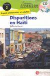 EVASION NIVEAU 2 DISPARITIONS EN HAITI + CD