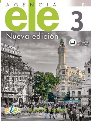 AGENCIA ELE 3 LIBRO DE EJERCICIOS. NUEVA EDICIÓN.