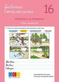 LECTURAS COMPRENSIVAS 16