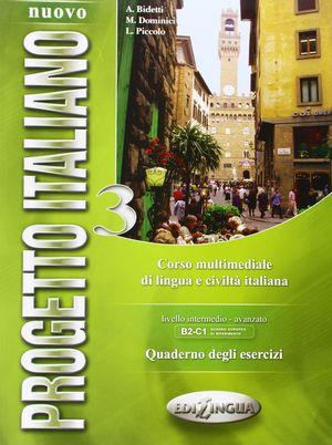 NUOVO PROGETTO ITALIANO 3 EJERCICIO